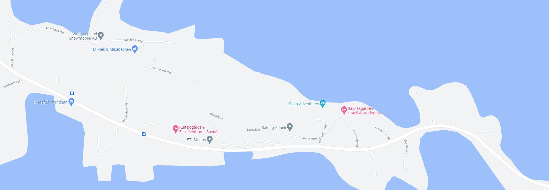 Klicka på kartan för att öppna Saxnäsgården i Google Maps.